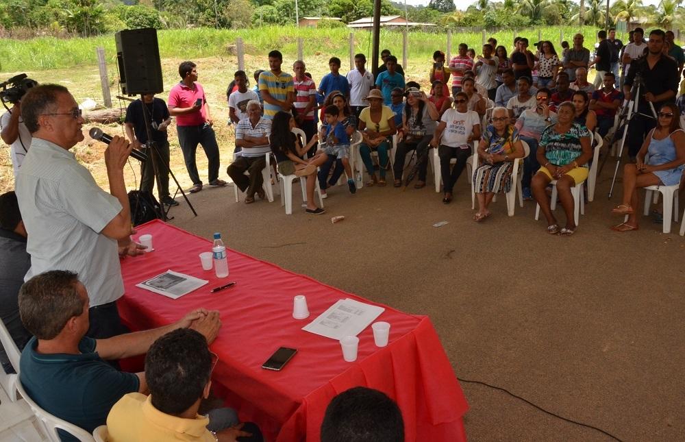 UFRR lan�a pedra fundamental de p�lo avan�ado em S�o Jo�o da Baliza.